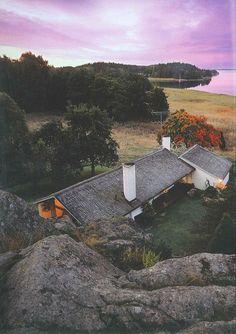 casa de verano de Asplund | circARQ