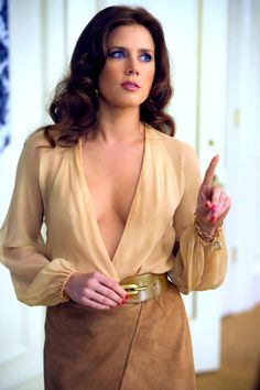 Amy Adams in American Hustle   Nominated for Best Actress in a Leading Role