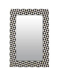 Horn Tile Mirror by Flair