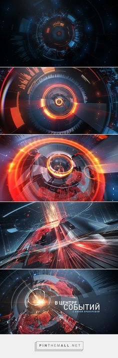 TVC News Events with Prokhorova on Behance... - a grouped images picture - Pin Them All