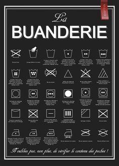 Affiche La Buanderie - à télécharger, à imprimer