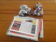 Kreakipje: Papier Maché hond Crafts For Kids, Frame, Diy, Decor, School, Writing Activities, Sculpture, Paper Mache, Crafts For Children