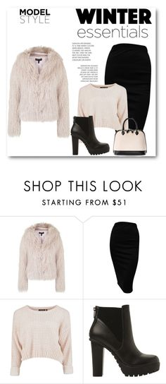 """Untitled #117"" by amina-haskic ❤ liked on Polyvore featuring moda, Topshop, Steve Madden e Aspinal of London"