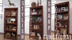 Styling a Bookcase