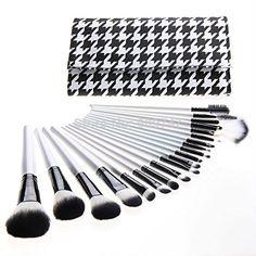 20 pcs Makeup Brush Kit Tools @ $50 only.