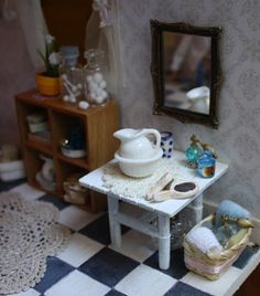 Lasituvan Miniatyyrit: Nukkekodista - from my dollshouse