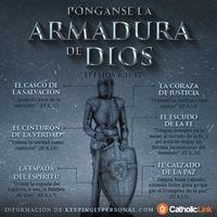 Infografía: Pónganse la armadura de Dios San Pablo