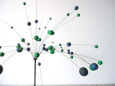 Vintage Kinetic Ball Sculpture - Laurids Lonborg Denmark from GllivantingGirls on Etsy.