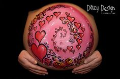 Belly Painting - Love