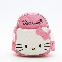 8c4d6aa71851 Cartoon Cute Kit Schoolbag For Elementary School Girls. Kids BackpacksGirl  ...
