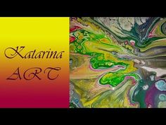 (3) Milan, acrylic durty pouring medium, abstract - YouTube