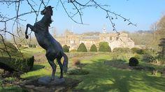 Sculptural highlights around the garden