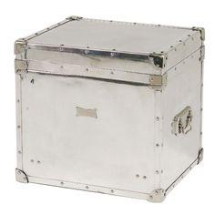 Eichholtz Flightcase Trunk - Aluminium