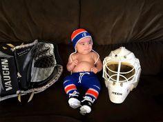 For Oilers or Islanders Fans http://etsy.me/2FPI1tV #oilers #edmonton #edmontonoilers #nhloilers #newyork #nyislanders #islanders #letsoilers #nhlislanders #hockey #babyboy  #hockeyplayer #hockeygram #hockeyislife #newborn #nhl #babies #newbornphotography #grandmabilt
