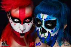 Ak Ao A Pbl And Ubl Makeup Collaboration By Pureblacklove On Deviantart Body Art