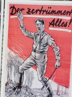Picture of Hitler, Berlin wall