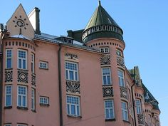 The name of this house is Ihantola, Helsinki