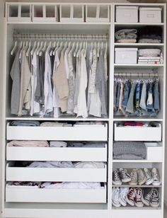Easy Pieces: Modular Closet Systems, High to Low Ikea Closet System Remodelista. I wish I had so many ConverseIkea Closet System Remodelista. I wish I had so many Converse Modular Closet Systems, Modular Closets, Ikea Closet System, Wardrobe Systems, Closet Storage Systems, Modular Office, Decor Room, Bedroom Decor, Bedroom Furniture