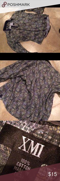 Button up Trippy button up Shirts Dress Shirts