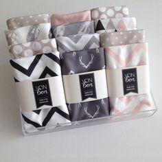 Organic Cotton Baby Blankets | VONBON | Handmade in Canada www.vonbon.ca
