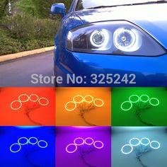 For Hyundai Tiburon 2003-2006 Excellent Angel Eyes kit Multi-Color Ultrabright RGB LED Angel Eyes Halo Rings - http://www.aliexpress.com/item/For-Hyundai-Tiburon-2003-2006-Excellent-Angel-Eyes-kit-Multi-Color-Ultrabright-RGB-LED-Angel-Eyes-Halo-Rings/32335408612.html