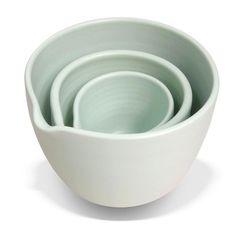 Perfection in Limestone. Mixing Bowls, Bowl Set, House Design, Ceramics, Tableware, Bison, Classic, Decor, Accessories