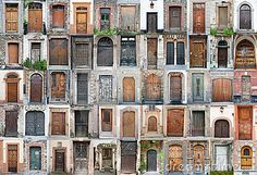 Vintage doors and gates set 1 by Paul Grecaud, via Dreamstime