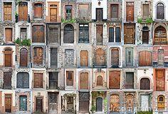 Vintage doors and gates set 1 by Paul Grecaud, via Dreamstime