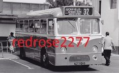 5.5 x 3.5 photo of Southdown Leyland Tiger Cub 7660 CD seen in Pool Valley Brighton on service 32 to Uckfield. | eBay!