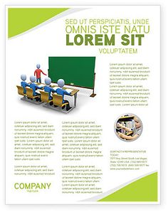 A Very Educational And Computerized Computer Education In School - Training brochure template