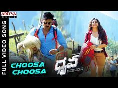 Watch & Enjoy Choosa Choosa Full Video Song From Dhruva Movie. Starring Ram Charan Tej, Rakul Preet, Arvind Swamy & Navdeep, Music Composed By Hiphop Tamizha. Dhruva Movie, Movie Songs, Dj Songs, Video Full, Download Video, Telugu Movies, My Music, Music Videos, Hip Hop