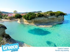 Canal d'amour in Corfu by http://www.corfu-tours.gr/