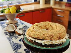 Torta de limón y coco | Recetas  Mauricio Asta | Utilisima