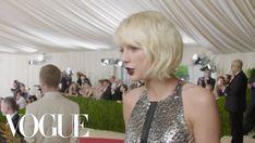 Taylor Swift on Looking Like a Futuristic Gladiator Robot | Met Gala 2016