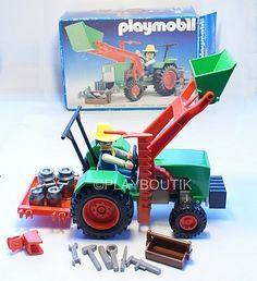 PLAYMOBIL Vintage  3500 TRACTEUR http://www.playboutik.com/achat-playmobil-3500-tracteur-406669.html
