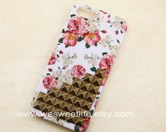 iphone 5 case Bronze Studded Iphone Case Vintage by wesweetlife, $13.99