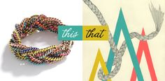 ...wear this madewell bracelet, decorate with that lisa congdon print...