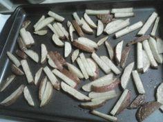 cleanses, clean eating, potato fri, cleanhealthi eat, food, potatoes, garlic potato, freezer meal, clean fri