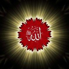 Beautiful Art Pictures, Beautiful Flowers, Beautiful Places, Doa Islam, Islam Quran, Islamic Art Calligraphy, Caligraphy, Asma Allah, Surrender To God