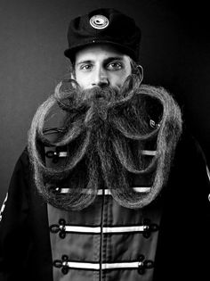 Here's a mane attraction (see what we did there?): A new self-published book by Justin James Muir explores some of the baddest beards in America. http://ti.me/Lkjv2v