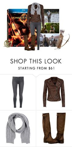 """""""Hunger Games Style"""" by cris-1121 ❤ liked on Polyvore featuring dVb Victoria Beckham, Scaglione, Hungergames and contestentry"""