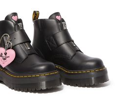 How to Cop Dr. Martens' Lazy Oaf Collection The Rabbit Society