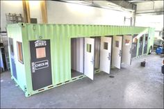 16 homeless people have a safe place to stay inside a single 40-foot shipping container. The container rooms are heated, lit and provide hot water, while they also come equipped with smoke detectors and bathrooms that are accessible to the handicapped. The shipping container is subdivided into eight rooms for the homeless with two beds per room. There is also an office for two trained staff members so someone could be on site to admit and care for the homeless seeking shelter.