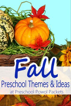 Fall Themes for Preschool