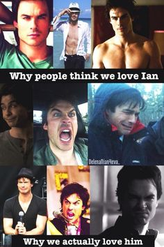 What is it with this Ian guy?