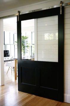 6 ides pour faire soi mme une porte coulissante - Porte De Chambre Coulissante