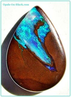 Boulder Opal Bead - love the cut. So full of character!