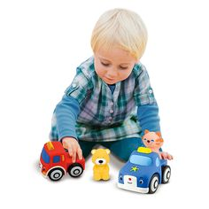 These adorable vehicles pop together, pull apart, and add up to fine motor fun! The colorful pieces, compatible with all Pop Blocs play sets, connect with knob-and-socket closures that are easy enough for little hands but provide nice resistance work for growing motor skills and finger strength! Enter code LEARN15 for 15% OFF. Offer ends 10/13/14 at 11:59pm PT.
