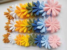 120 pieces of summer sunflower daisy pieces by grandmotherskisses