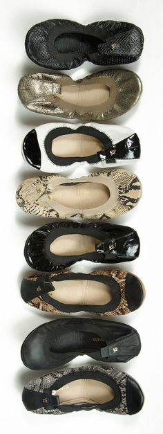 #YosiSamra foldable flats...many styles to pick from!